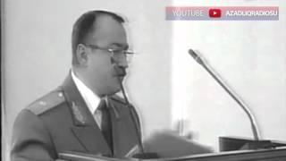 Heydər Əliyev Kamaləddin Heydərovu danlayır