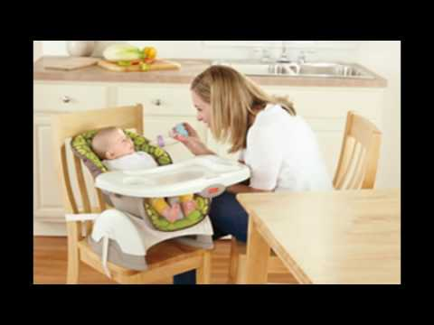 Fisher-Price SpaceSaver High Chair, Rainforest Friends – Best Kids Ride on Toys