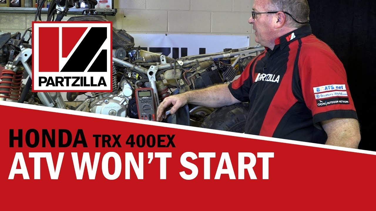 help! my atv won't start! what to check first | partzilla com