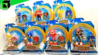 Unboxing Sonic The Hedgehog Complete Set Of Bendable Action Figures By Jakks Pacific From Target!