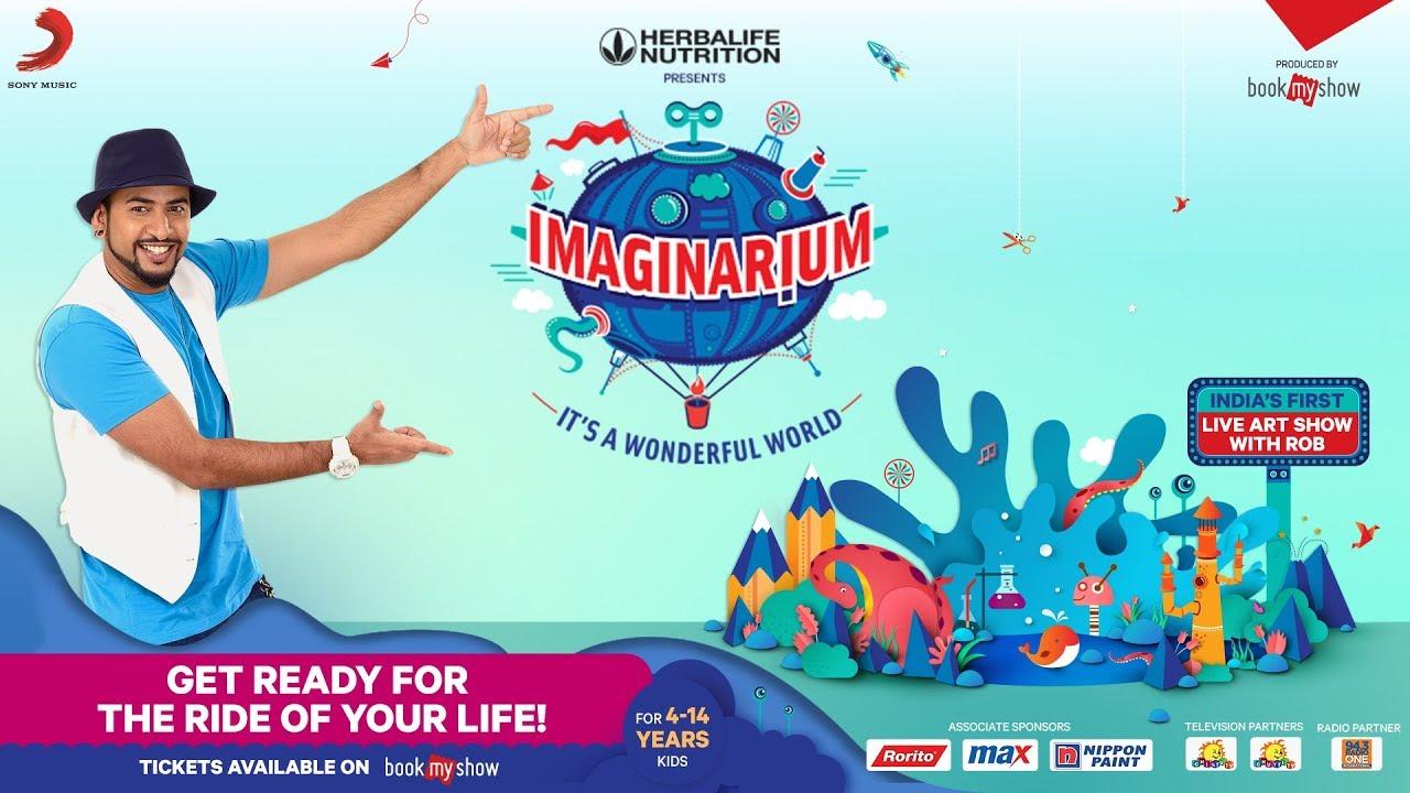 Imaginarium - It's a Wonderful World Tour | India's First Live Art Show
