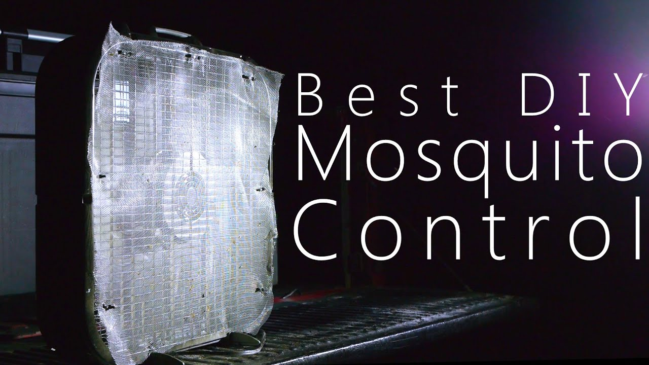How To Get Rid Of Mosquitoes With A Fan U0026 Window Screen   NightHawkInLight    YouTube