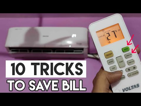 How to Save Electricity Bill using AC in Hindi | Save Power Consumption