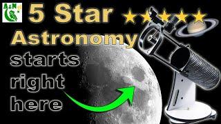 The Sky-Watcher Heritage 130P FlexTube™ 130mm Parabolic Dobsonian Telescope (A buyer's guide)