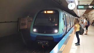 Einfahrt M4 Kadıköy in Pendik (İstanbul Metro)