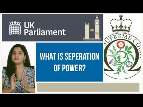 13 - Introduction to Separation of Power