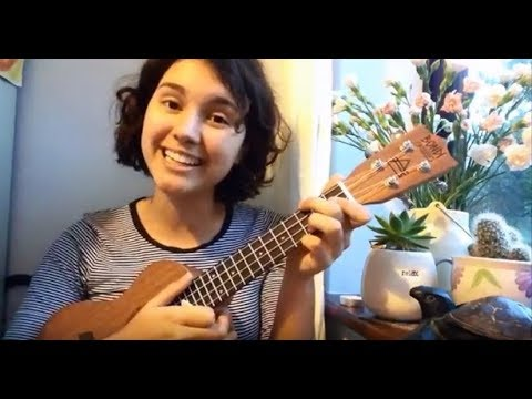 ☆ lili's beginner theatre trash ukulele lesson!! (defying gravity) | VEDO #20 ☆