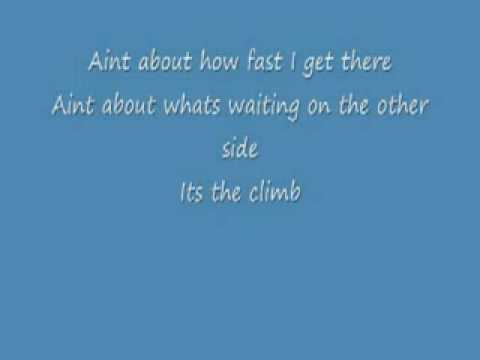 Miley cyrus the climb instrumental with lyrics