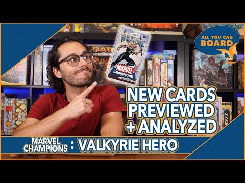 VALKYRIE Hero Pack Preview   Marvel Champions   All REVEALED Cards PREVIEWED + ANALYZED!
