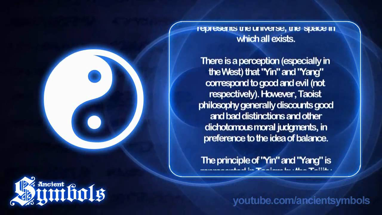 Ancient symbols the yin yang youtube buycottarizona