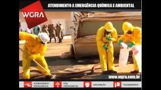 WGRA na simulação de acidente com produtos perigosos em Mato Grosso do  Sul