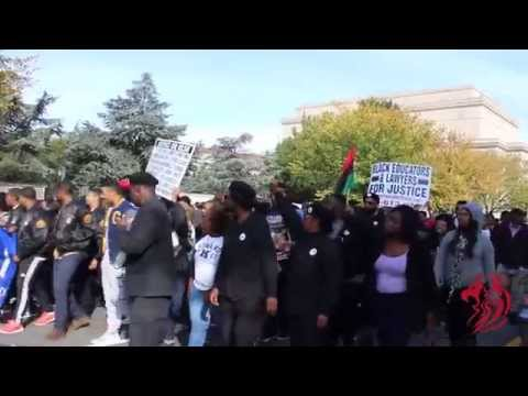 Howard University Marches to Million Man March 2015
