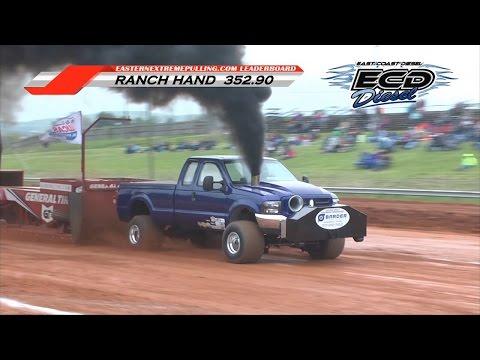 (4/30/16) ECD Pro Stock Diesel Pull | Fishersville, VA | KAM Motorsports