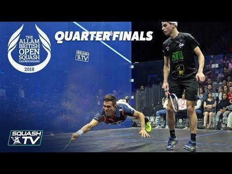 Squash: Allam British Open 2018 - Men's QF Roundup