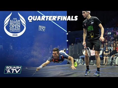 Squash: Allam British Open 2018 - Men\'s QF Roundup