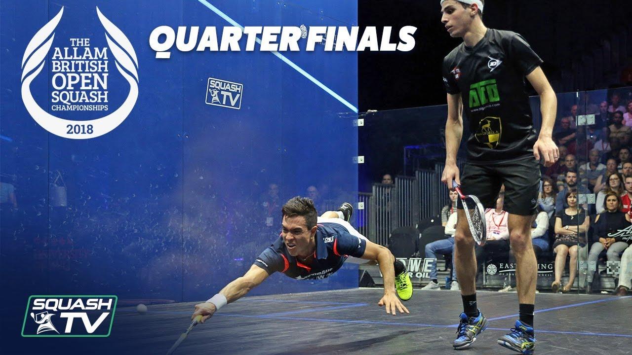 squash  allam british open 2018 - men u0026 39 s qf roundup