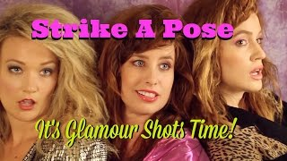The Ultimate 80s Glamour Shots Party & Poses