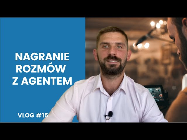 Vlog #15 | Przygotowania i nagrania rozmów z Agentem | Marek Kloc