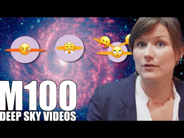 M100 - Galaxies and Emoji - Deep Sky Videos