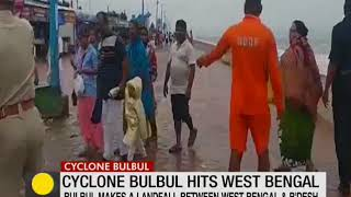 Cyclone Bulbul hits West Bengal, 2 deaths reported