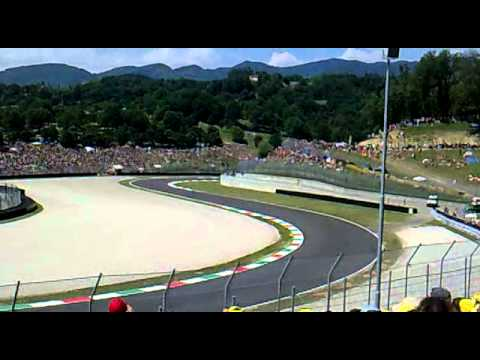 Tribuna Materassi.Motogp Mugello 2011 Trib Poggio Secco Youtube