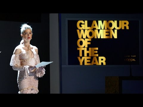 Amber Heard Reads an Essay by Brock Turner's Sexual Assault Victim On Stage