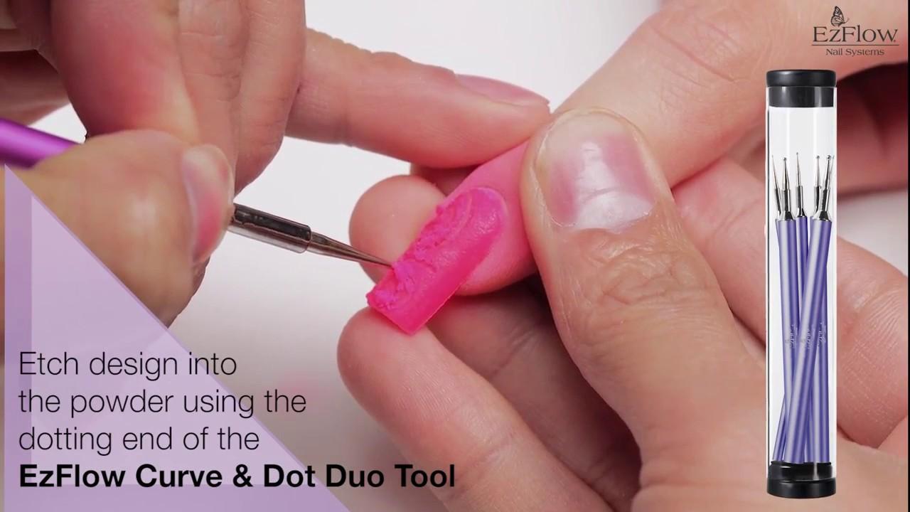 TruDip Nail Dipping Tutorial - Negative Space Nail Art
