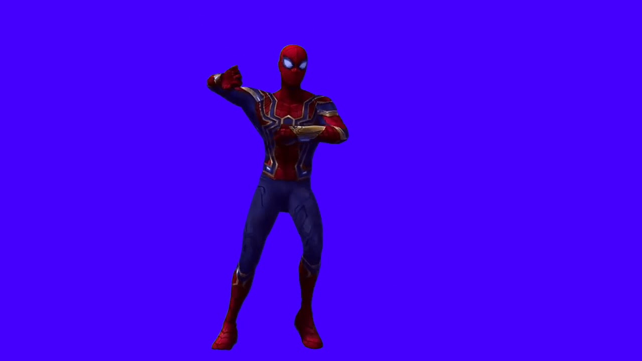 Spiderman_and_Thanos_dancing_green_screen_efect. - YouTube