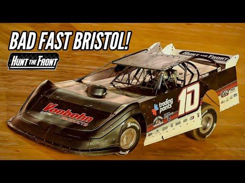High Speeds and Hard Hits at Bristol Motor Speedway?s Bristol Dirt Nationals