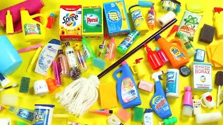 100 DIY Miniature Barbie Dollhouse Accessories #4  -  Bath & Cleaning Supplies - simplekidscrafts