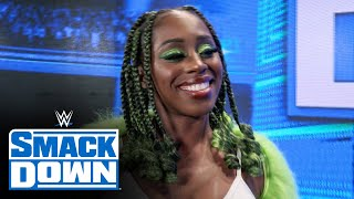 Naomi is happy to be appreciated SmackDown Exclusive Oct 1 2021