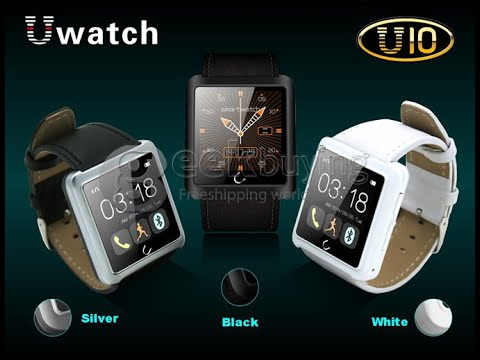 U10 U Watch Waterproof Bluetooth Smart Watch for iPhone Samsung Android Phone