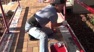 How to paint a handrail with a painter