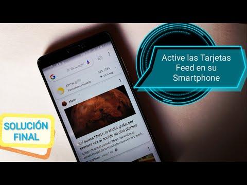 📲No Aparecen Las Noticias De Google En Su Smarthphone? - Active Las Tarjetas Feed De Google