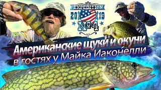 Американские ЩУКИ и ОКУНИ ДРУГИЕ Рыбалка на каяке В гостях у Майка Иаконелли 2019 10