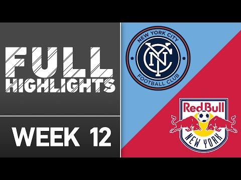 HIGHLIGHTS: New York City FC vs. New York Red Bulls | May 21, 2016