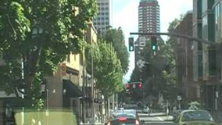 Driving around portland oregon Part 1