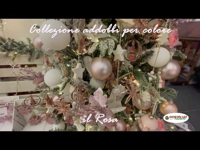 collezione Natale per colore - Rosa