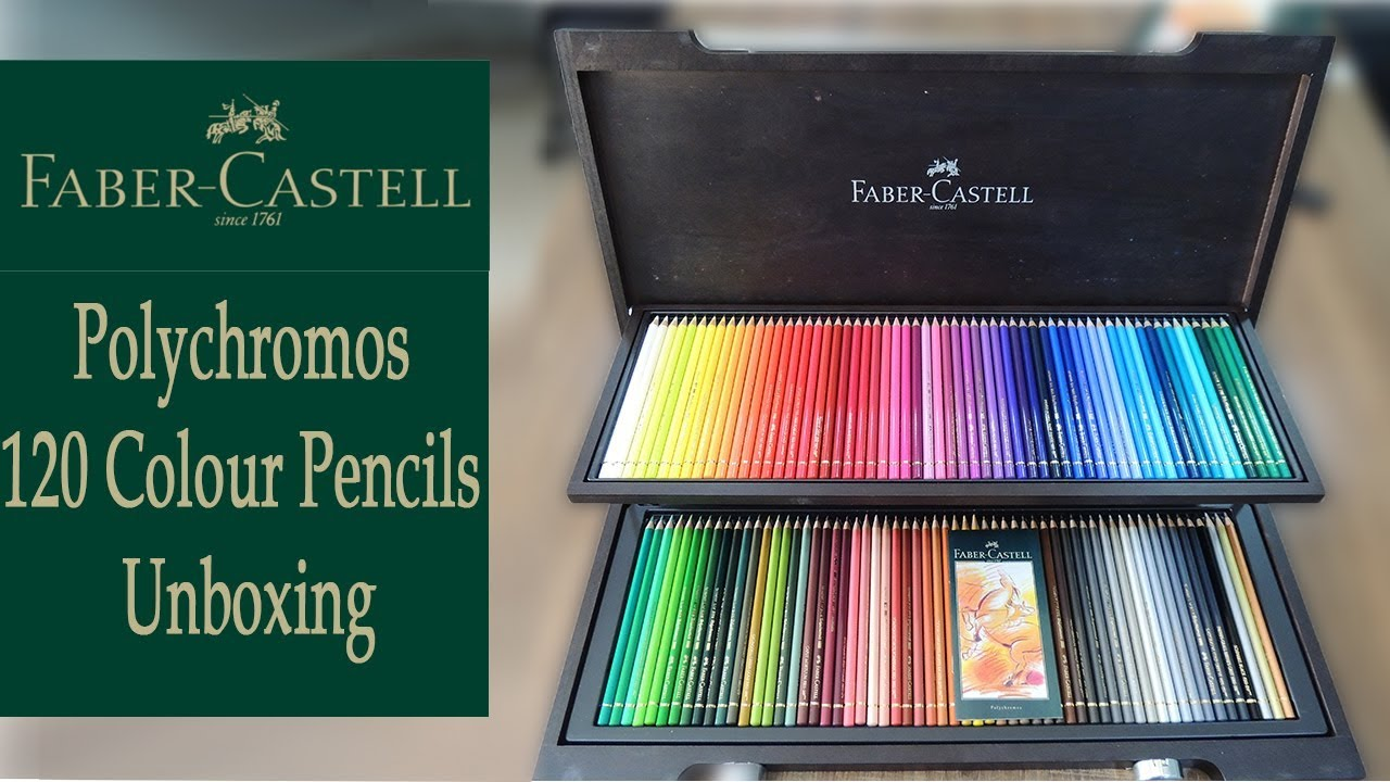 Faber-Castell Colour Pencils Polychromos Artists Colouring Art Set Pack Of 60