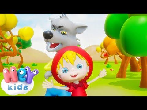 Scufita Rosie -  Povesti Pentru Copii In Romana | HeyKids - Desene Animate