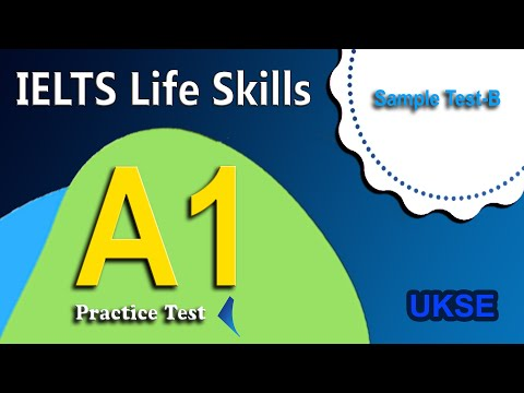 IELTS Life Skills Listening A1, Phase 2a, sample test B(full)