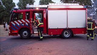 Bermbrand Bavo-terrein Noordwijkerhout.