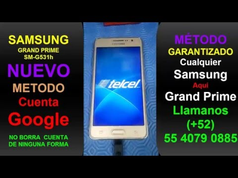 f74b4a190b3 Samsung Galaxy Grand Prime G531h FRP RESET New ANY SAMSUNG - YouTube