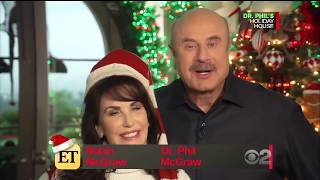 Robin and Dr. Phil Talk Christmas on Entertainment Tonight!