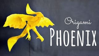 How to make an origami Phoenix (Hongyi Wan)