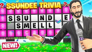 COMPLETING The SSUNDEE QUIZ (Fortnite) thumbnail