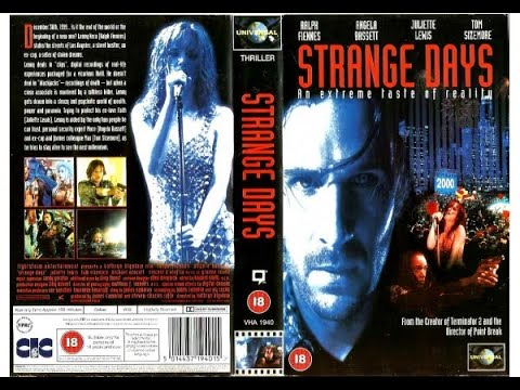 Original VHS Opening: Strange Days (1996 UK Rental Tape)
