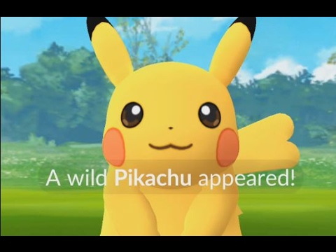 A wild female pikachu has appeared pokemon go female pikachu with adorable heart tail youtube - Pokemon famille pikachu ...