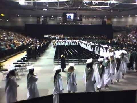 Clover Hill High School 2011 Graduation at VCU pt 1