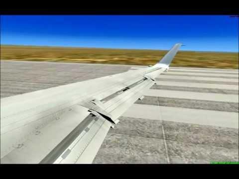 Takeoff from Colorado Springs, United ERJ-145XR